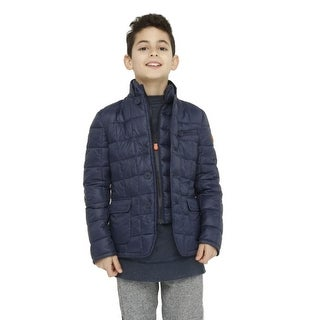 Save The Duck Lightweight Boys Jacket In Navy