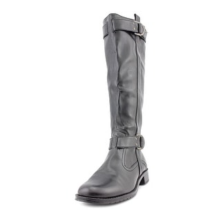 Aerosoles Ride Line Women Round Toe Synthetic Black Knee High Boot