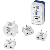 TRAVEL SMART BY CONAIR TS703CRN 2-Outlet, 1,875-Watt Converter for Single- & Dual-Voltage Appliances