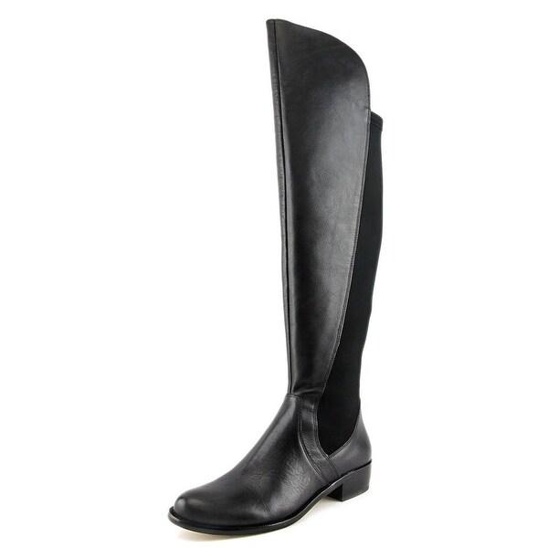 Corso Como Stonybrook Women Round Toe Leather Over the Knee Boot