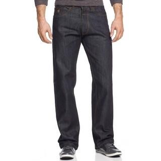 Rocawear Straight Fit Core Jeans Deep Indigo Dark Wash 32 x 32