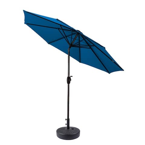Lopes 9-foot Patio Umbrella with Base Included
