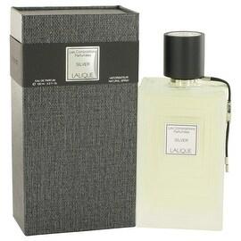 Eau De Parfum Spray 3.3 oz Les Compositions Parfumees Silver by Lalique - Women