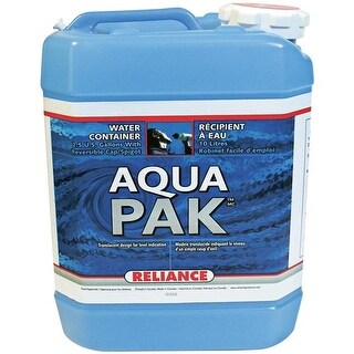 Reliance 8905-03 Aqua-Pak 2.5 Gal Container Water Carrier