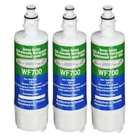 Replacement Water Filter For LG CLCH106 Refrigerator Water Filter by Aqua Fresh (3 Pack)