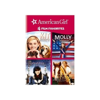 4 KID FAVORITES-AMERICAN GIRL (DVD/4 DISC/KIT/MOLLY/SAMANTHA/FELICITY)