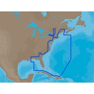 CMAP MAX NAM022 U.S. East Coast and The Bahamas SD Card U.S. East Coast and The Bahamas