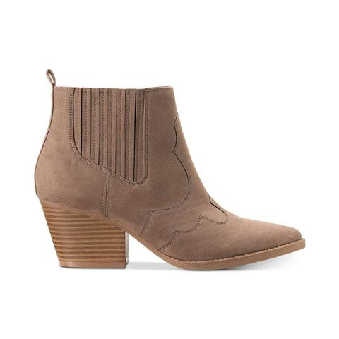 American Rag Womens Kayla Almond Toe Ankle Fashion Boots
