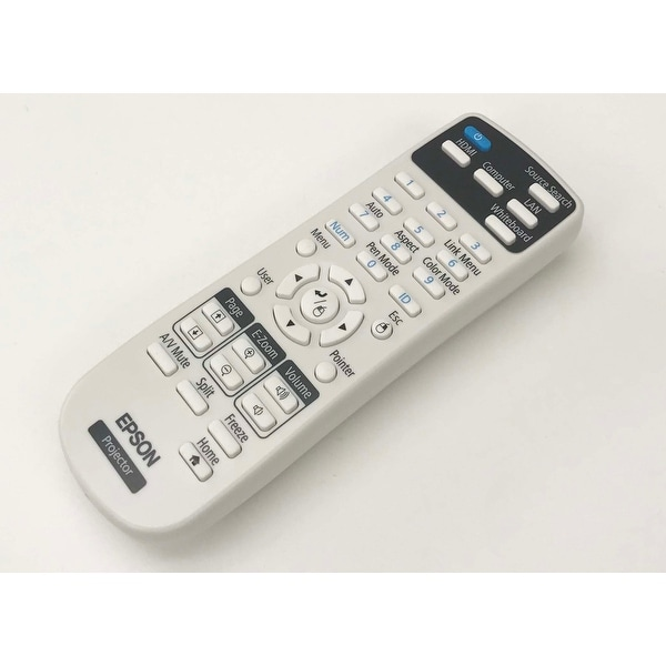 OEM Epson Projector Remote Control Shipped With BrightLink 697Ui, 696Ui