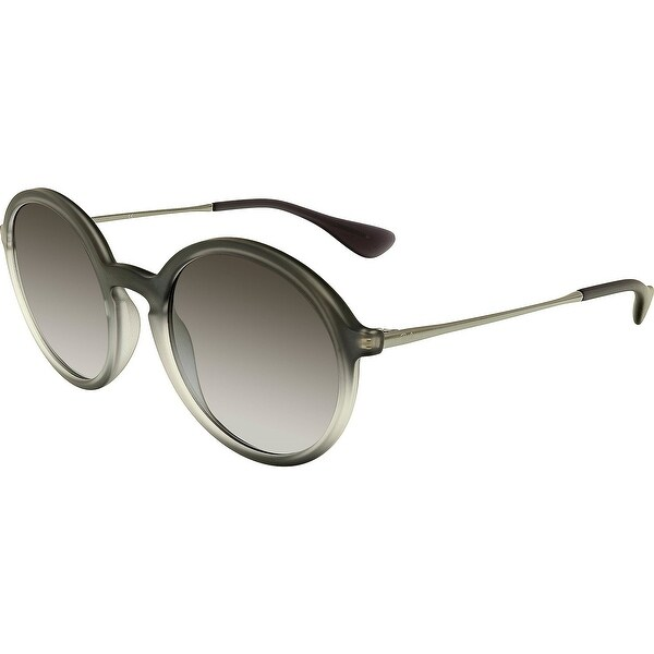 45a62fe7cb Shop Ray-Ban Men s Gradient RB4222-62268G-50 Grey Round Sunglasses - Free  Shipping Today - Overstock.com - 18900471