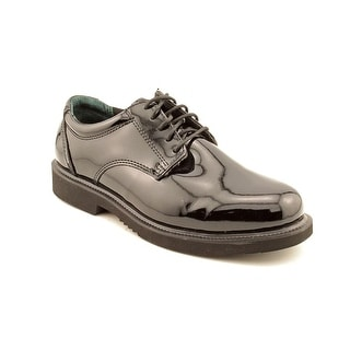 Thorogood Poromerics Academy Men W Round Toe Synthetic Black Oxford
