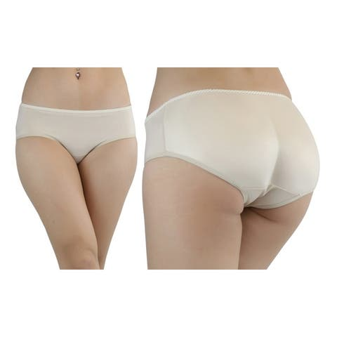 Women's Instant Booty Boosters Padded Panty