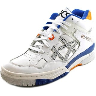 Asics Gel-Spotlyte Men Round Toe Leather White Sneakers