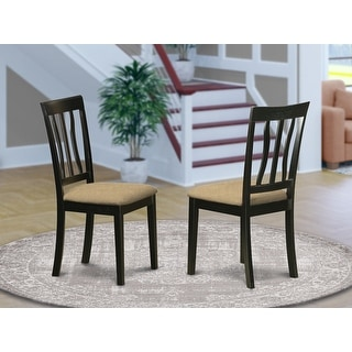 Link to Black Cherry Finish Antique Kitchen Chair in Black and Cherry Finish (Set of 2) Similar Items in Dining Room & Bar Furniture