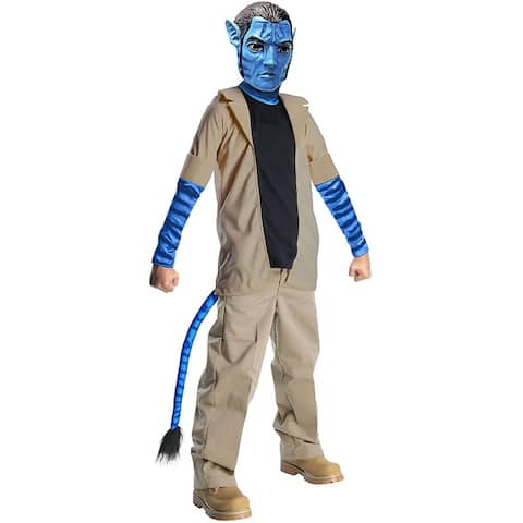 Avatar Jake Sully Costume Child - Beige