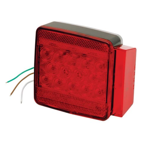 Wesbar submersible led combo 6-funct tail light right 80