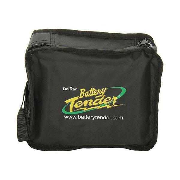 Battery Tender Black Large Zipper Pouch