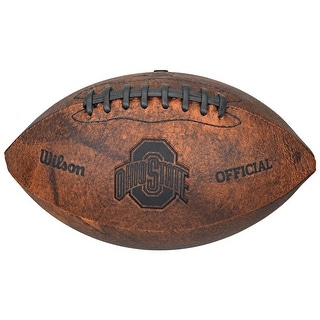 Ohio State Buckeyes Football Vintage Throwback 9 Inches