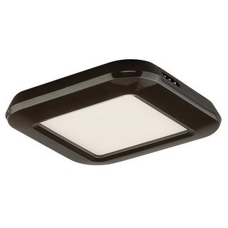 "Vaxcel Lighting X0022 Instalux 3"" Wide Low Profile LED Under Cabinet Puck Light - Bronze"