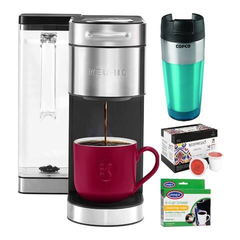 Keurig K-Supreme Plus Single Serve K-Cup Pod Coffee Maker Bundle