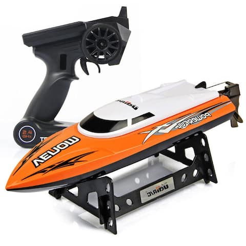 Udirc 2.4GHz High Speed Remote Control RC Electric Boat Orange Gift