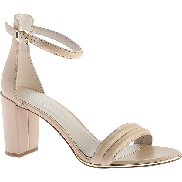 Kenneth Cole New York Women's Lex Heeled Sandal, Nude, Size 9.0 - 9