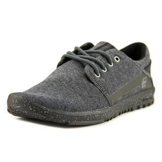 Etnies Scout Women Round Toe Canvas Gray Skate Shoe