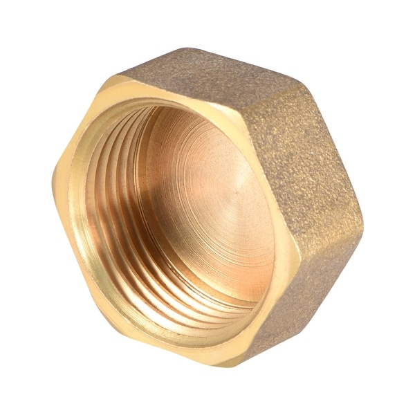"""Brass Cap, Hex Pipe Fitting 3/4""""G Female Pipe Connector - 3/4"""" G 1pcs"""