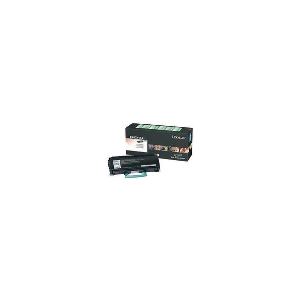 Lexmark E460X41G Lexmark Return Program Black Toner Cartridge - Laser - 15000 Page - Black