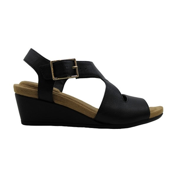 Giani Bernini Womens Belinaa Leather Open Toe Casual Ankle Strap Sandals. Opens flyout.