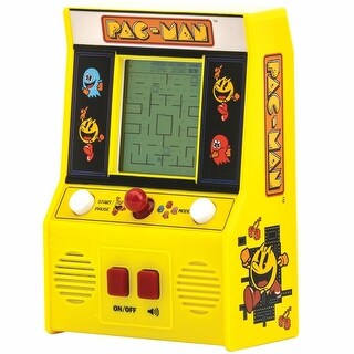 Retro Miniature Arcade Video Game - Pac-Man - Yellow