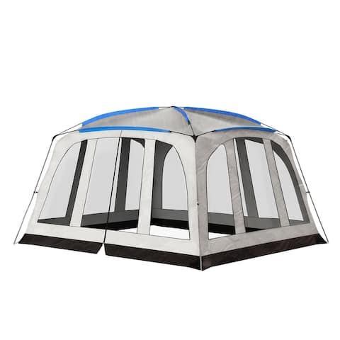 """Leisure Sports Enclosed Screen Tent- 14x12 - 14' x 12' x 7'7"""""""
