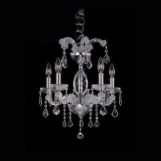 Allegri 10230 Giordano 5 Light Semi Flush Ceiling Fixture