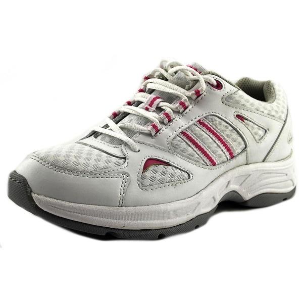 Propet Tasha Women N/S Round Toe Leather White Tennis Shoe
