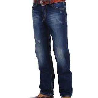 Stetson Western Denim Jeans Mens 1520 Fit Dark 11-004-1520-0032 BU
