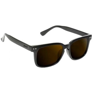 Glassy Sunhaters Sunglasses Davis Black with Brown Polarized Lens