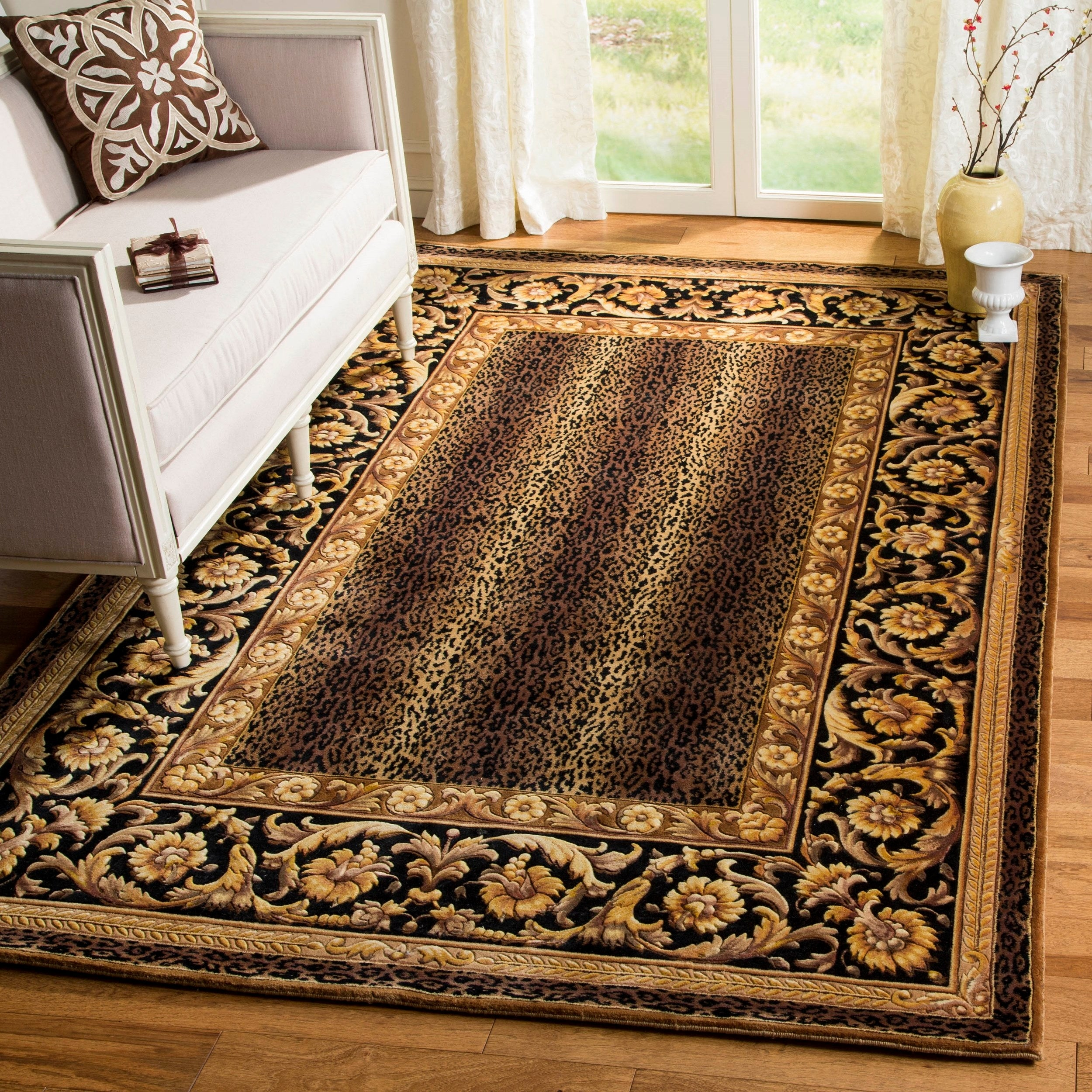 Safavieh Couture Hand Knotted Florence Maricela Traditional Oriental Wool Rug Overstock 23481530
