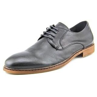 Steve Madden Danfortt Men Round Toe Leather Black Oxford