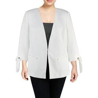Tahari ASL Womens Plus Jacket Office Wear Business Attire - 16W