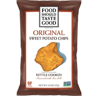 Food Should Taste Good - Original Sweet Potato Chip ( 12 - 4.5 oz bags)