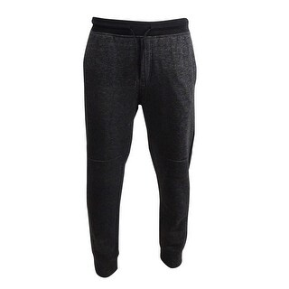 Kenneth Cole Reaction Men's Downtime Marled Lounge Pants (XL, Charcoal Heather) - Charcoal Heather - XL