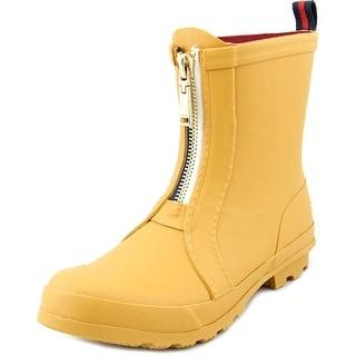 Tommy Hilfiger Ryann Women Round Toe Synthetic Yellow Rain Boot