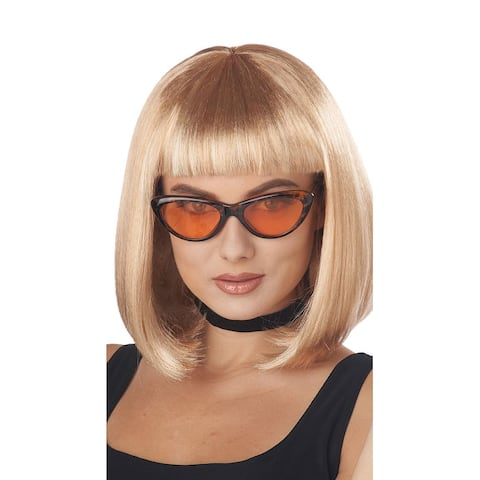 Pretty Woman Bob Wig - Blonde - One Size Fits Most