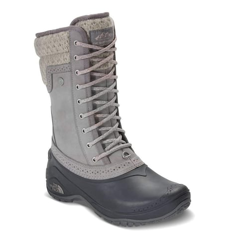 The North Face Womens shellista ll mid Almond Toe Mid-Calf Cold Weather Boots