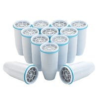 Zero Water 5 Stage Dual Ion Exchange Replacement Pitcher Filter ZR-012 (12 Pack)