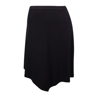 Alfani Women's Elastic Waistband Asymmetrical Skirt