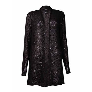 Alfani Women's Sequin Embellished Open Cardigan