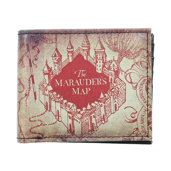Harry Potter The Marauder's Map Bi-Fold Wallet - One Size Fits most