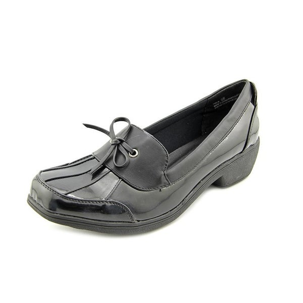Wanderlust Weather or Not Women Round Toe Synthetic Black Loafer