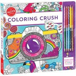 - Coloring Crush Book Kit